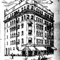 Smith Building, northeast corner of Webster and Tremont, illustration (1893-08-05 Tonawanda News).jpg