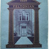 Feltonian yearbook, cover (1926).jpg