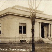Library, North Tonawanda, postcard (c1925).jpg