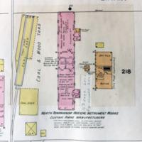North Tonawanda Musical Instrument Works, map detail (Sanborn Map Company, 1910, 1913).jpg
