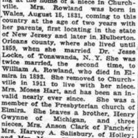 Locke married in 1859, article (Elmira Telegram, 1917-02-11).png