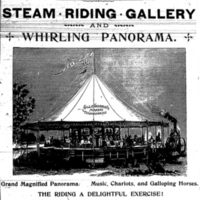 Gillie Godard and Co - Steam Riding Gallery ad, detail (Tonawanda News,  1894).jpg