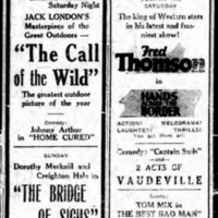 Avondale and Star Theatre, movie ads, vaudeville (Tonawanda News, 1926-05-14).jpg