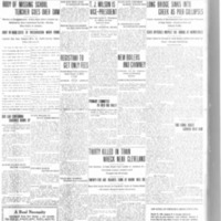 Long Bridge sinks into creek as pier collapses, article (Tonawanda News, 1916-03-29).pdf