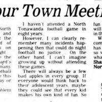 Your Town Meeting - Night Football, article (Tonawanda News, 1980-11-24).jpg