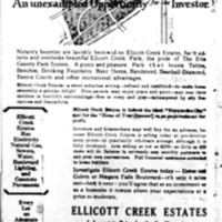 Ellicott Creek Estates, ad (Buffalo News, 1926-10-26).jpg