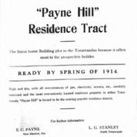 Payne Hill Residence Tract, ad (Tonawanda News, 1913-12).jpg