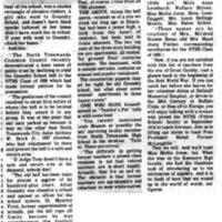 Goundry Street School remembrances, About Town (Tonawanda News, 1975-08-02).jpg