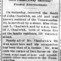 John Chadwick Dead, article (Tonawanda News, 1902-06-23).jpg