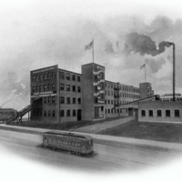 North Tonawanda Musical Instrument Works factory, illustration (Automatic Military Bands, c1913).jpg