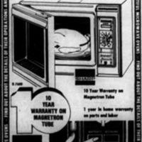 Linde Television, 38 Webster, microwave demonstration ad (1975-06-04).jpg
