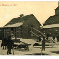Our Ice Houses in 1898, Ives Ice and Coal, postcard (1915).jpg
