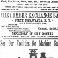 Lumber Exchange Bank, ad (Tonawanda News 1896).jpg