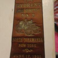 Hydrant Hose Company, North Tonawanda NY, embossed ribbon (1901-06-17).JPG
