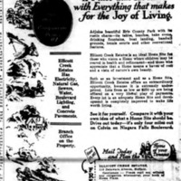 Ellicott Creek Estates, ad (Buffalo News, 1926-09-27).jpg