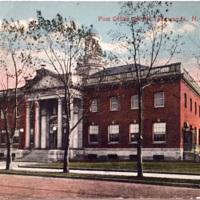 Post Office, North Tonawanda, postcard (1917).jpg
