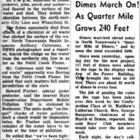 Hundreds of fishes killed by pollution, Pettit flume, article (Tonawanda News, 1953-01-28).jpg