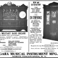 Niagara Military Band, En-Symphonie, ad (Billboard, 1910-03-19).jpg