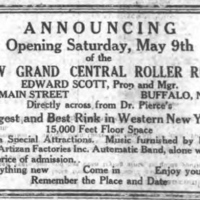 Artizan Furnishes Automatic Band Music to New Roller Rink, article (Tonawanda News, 1925-05-02).jpg