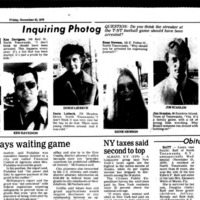 Inquiring Photog - Should streaker have been arrested, article (Tonawanda News, 1979-11-23).jpg