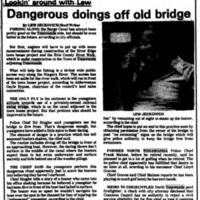 Dangerous Doings off Old Bridge, article (Tonawanda News,1985-08-09).jpg