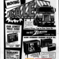 Linde Television, 272 Oliver, Moving to New Location Soon, ad (1972-04-29).jpg