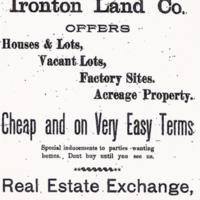 Ironton Land Company, ad (1894).jpg