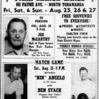 Rojek Park Manor Lanes Grand Opening, ad (Tonawanda News, 1961-08-24).jpg