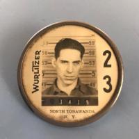 Wurlitzer employee badge of Jerold Neff (Carl Neff).jpg