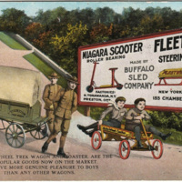 Niagara Scooter, Auto Wheel, Fleetwing, postcard (Buffalo Sled Co., 1919-10-14).jpg