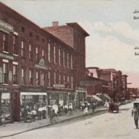 South Niagara Street and Erie Canal, postcard (c 1900).jpg