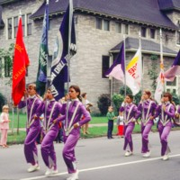 Burger King banner and purple suits, photo (1972).jpg