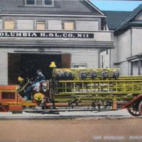 Columbia Hook and Ladder, The Homeyer, North Tonawanda, illustrated postcard (c1916).jpg