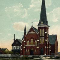 Ascension Roman Catholic Church, illustrated postcard (1907).jpg