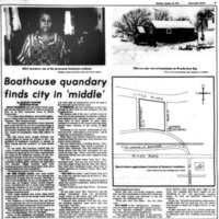 Boathouse quandary finds city in middle, article (Tonawanda News, 1977-01-25).jpg