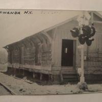 Train depot, Tonawanda, photo postcard.jpg