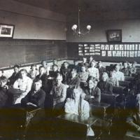 Richard H. Martin at Pine Woods Elementary, photo (c1908).jpg