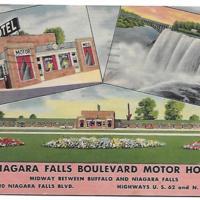 Niagara Falls Boulevard Motor Hotel, postcard (c1940).jpg