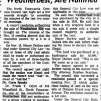 Council actions, including Weatherbest, are nullified, article (Tonawanda News, 1965-12-07).jpg