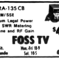 Foss TV, 289 Schenck, illustrated ad (Tonawanda News 1975-11).jpg