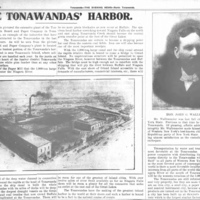 Tonawanda Board and Paper Company on Goose Island, photo article (Tonawanda News, 1905-12-20).jpg