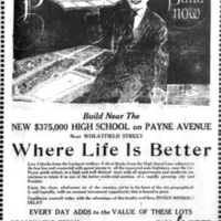 Build Here, Whee Life Is Better, Payne Estate, illustrated ad (Tonawanda News, 1924-07-12.jpg