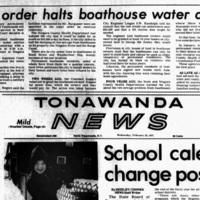 Court order halts boathouse water cutoff, article (Tonawanda News, 1977-02-23).jpg