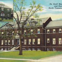 De Graff Memorial Hospital and Nurses Home, postcard.jpg
