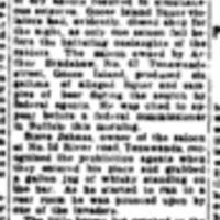 1926-02-15 Dry Raiders in Drive on Goose Island, article (Buffalo Express).jpg