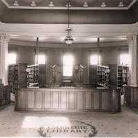 Carnegie Library rotunda, photo (c1940).jpg