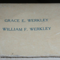 Werkley's Home Made Candies, 115 Goundry, illustrated box, detail (c1940).jpg