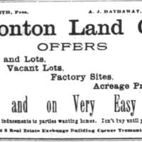 Ironton Land Company, ad (1895).jpg