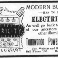 Tonawanda Power Company, illustrated ad (Ton News, 1905-02-26).jpg