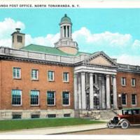 North Tonawanda Post Office, postcard (1942-04-07).jpg